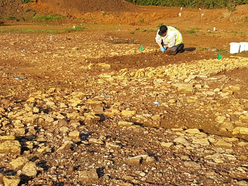 Archaeological Excavation - Romano-British farmstead Milton Keynes