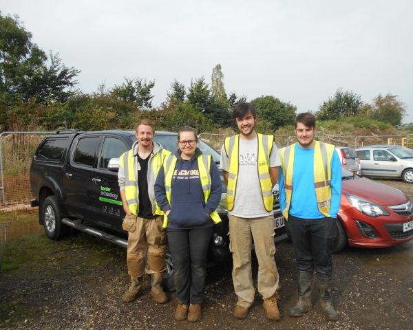 Meet new members of ourgrowing Milton Keynes Field Archaeology Team