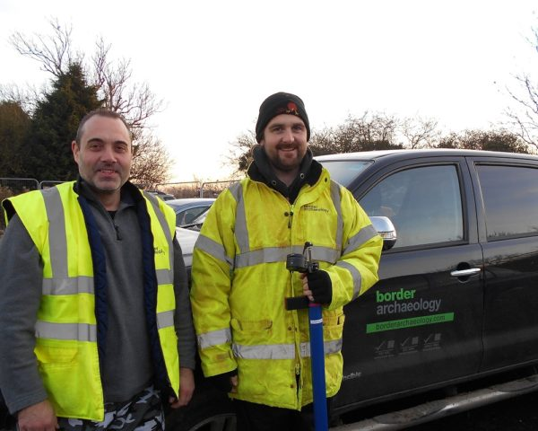 Border Archaeology welcomes new staff Craig and Michael