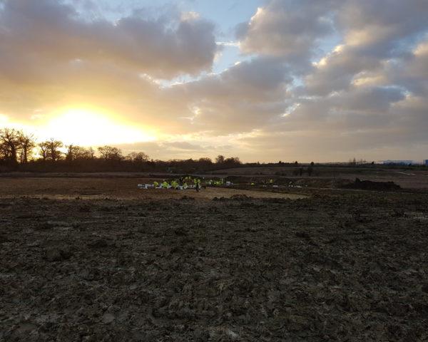 Late Iron Age/Romano Archaeological Excavation Milton Keynes