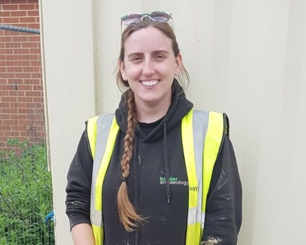 Brittany Hill PhD has just been awarded PCIfA grade accreditation.Border Archaeology actively encourages staff CIfA membership.