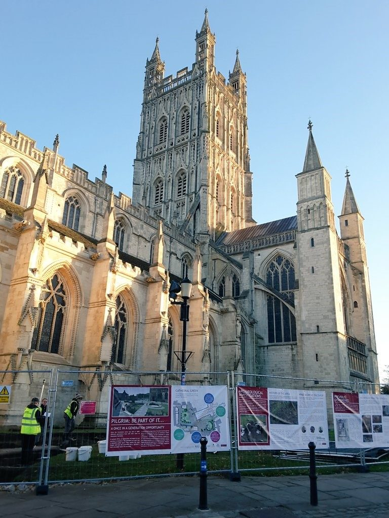 Results are in for Small bone objects unearthed during archaeological evaluation at Gloucester Cathedral