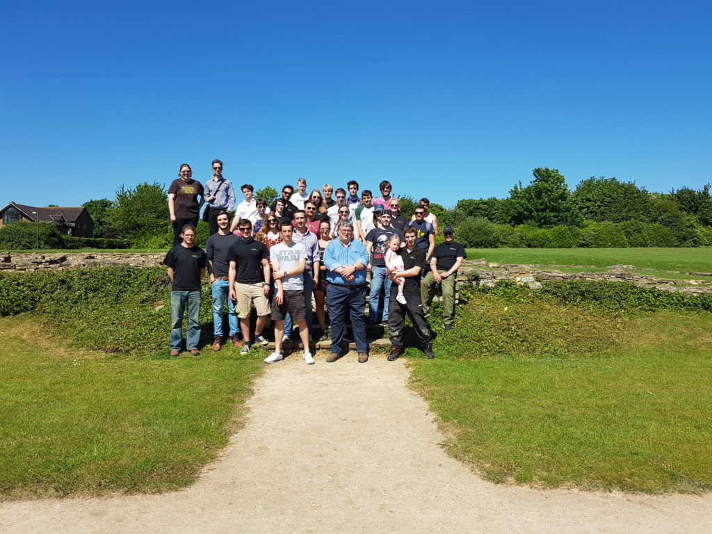 The Border Team were able to enjoy sharing and comparing accounts of the Romano-British archaeology we are uncovering in Milton Keynes