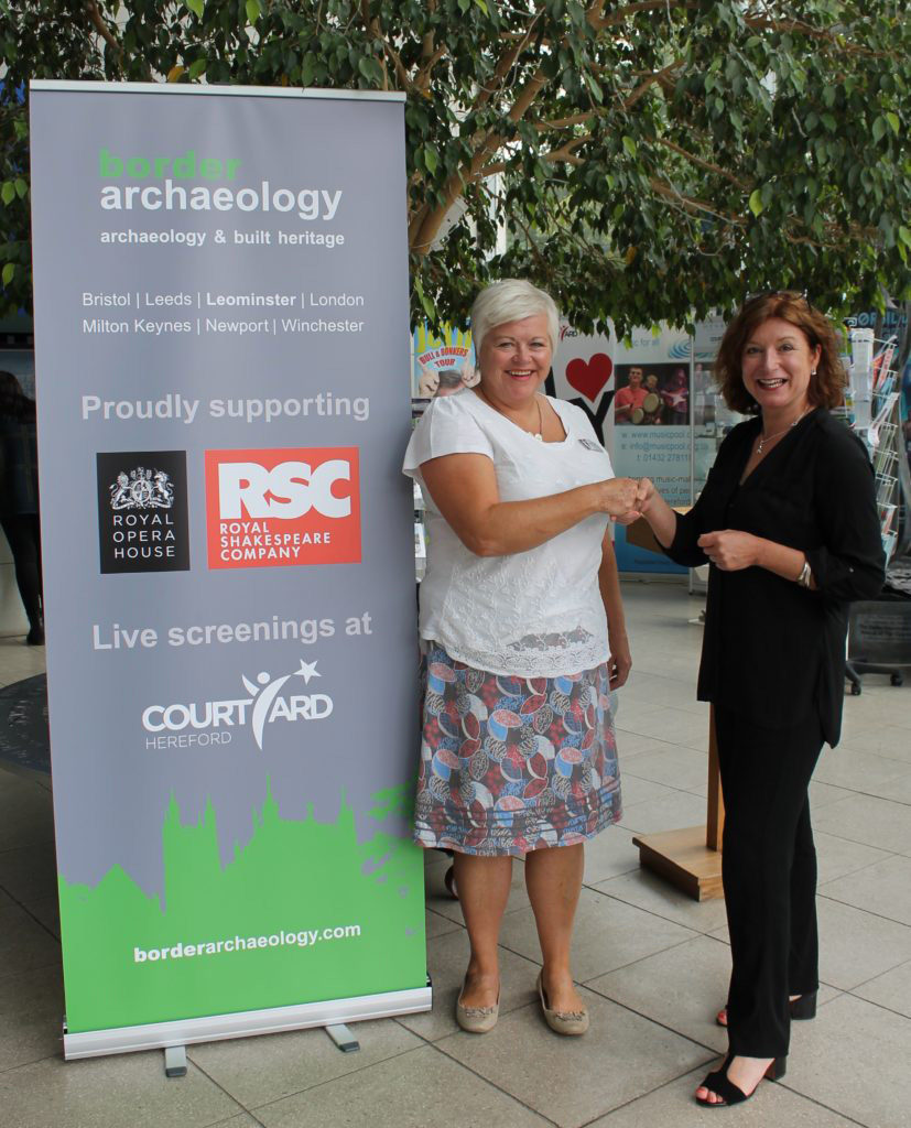 Proud Sponsors of The Courtyard, Hereford