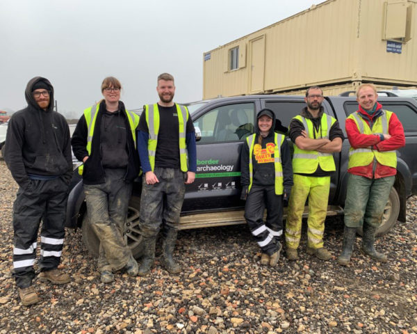 6 new additions to our Milton Keynes Field Archaeology Team