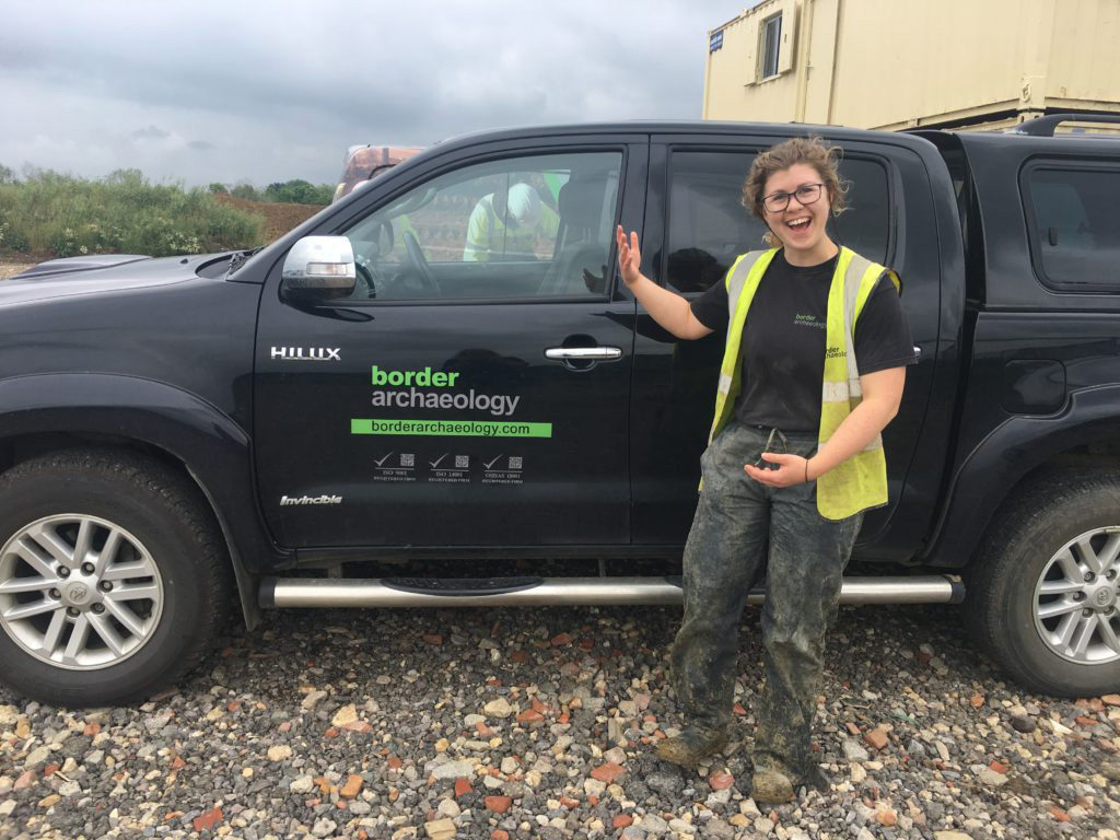 Border Archaeology Partners with Reading University
