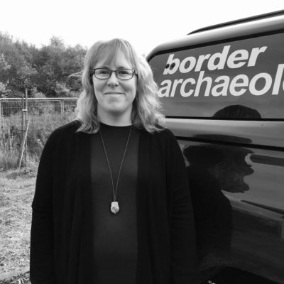 Kim Doolan, Post Excavation and Archiving Manager.