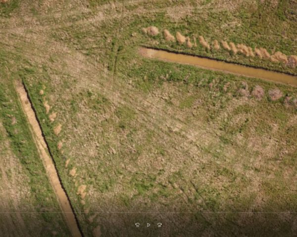 trial trenching, UAV photography