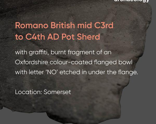 Romano British Pot Sherd