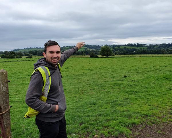 Stuart (Forsythe) captures the Tor (Glastonbury) – Lyndsey Clark